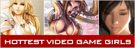 50 hottest video game girls