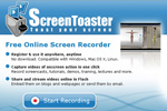 A simple free online screen recorder – Screen Toaster