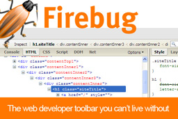 Firebug – A web development tool that every web designer should have