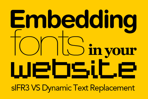 Two great ways to embed a font in your website