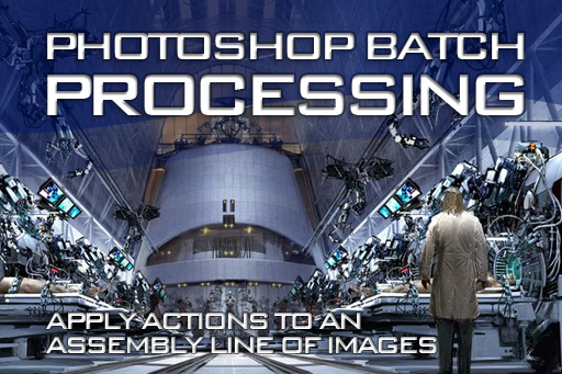 How to automate a batch process in Photoshop