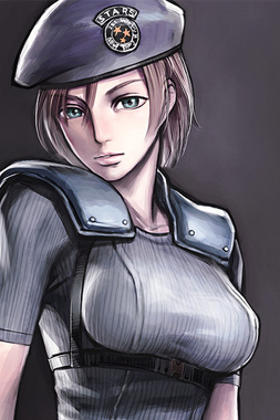 video-game-babe-jill-valentine-from-resident-evil-1