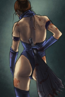 video-game-babe-kitana-from-mortal-kombat-2