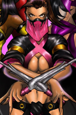 video-game-babe-mileena-from-mortal-kombat-2