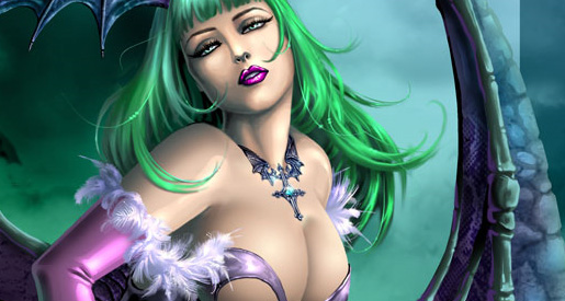 video-game-babe-morrigan-from-darkstalkers-3