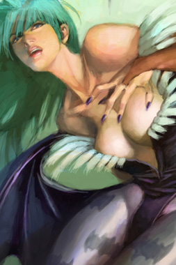 video-game-babe-morrigan-from-darkstalkers-4