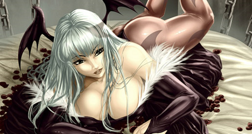 video-game-babe-morrigan-from-darkstalkers-6