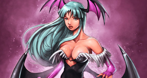 video-game-babe-morrigan-from-darkstalkers-9