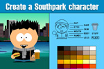 Create your own Southpark character with SP Studio!