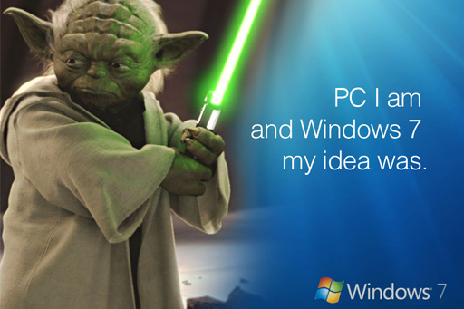 Celebrities endorse Windows 7 in latest advertisements
