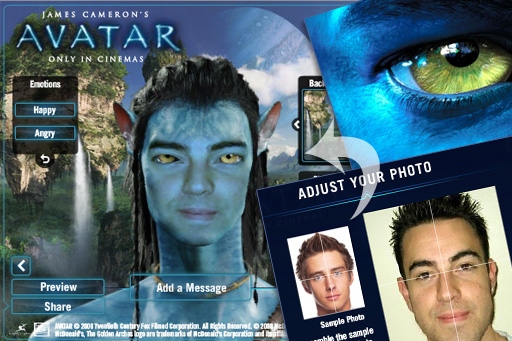 Avatarize yourself! Create your own Avatar movie character: www.cre8ivecommando.com/page/10