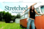 CSS background image stretch