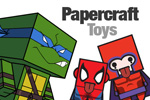 Free papercraft toys that you can make yourself