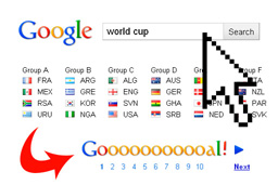 Google gets World Cup Fever!