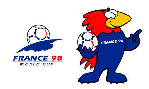World Cup France 1998 Brand Design