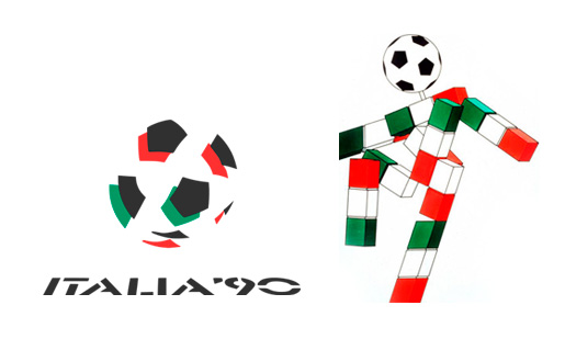 World Cup Italy 1990 Brand Design