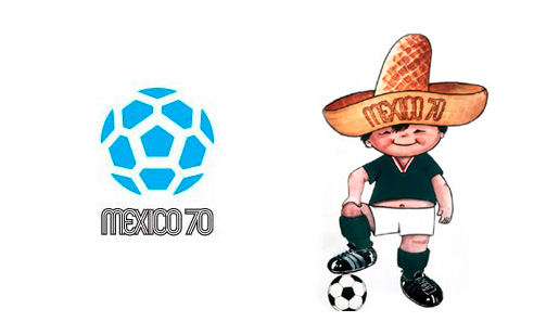 World Cup Mexico 1970 Brand Design