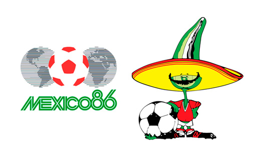 World Cup Mexico 1986 Brand Design