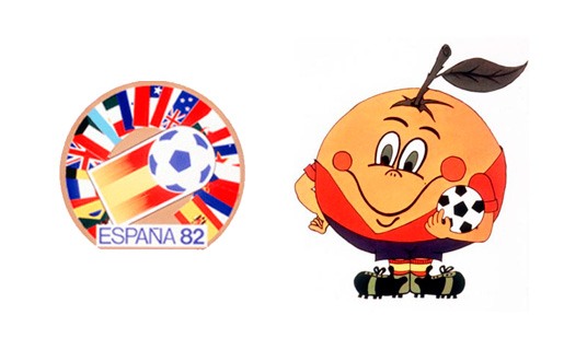 World Cup Spain 1982 Brand Design