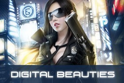 Digital art of the most beautiful CG women