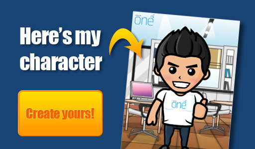 create yourself as a cartoon character on facebook