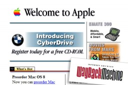 Surf the web as it was with Wayback Machine!