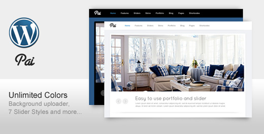 pai corporate wordpress theme
