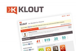 Measure Your Overall Online Influence with Klout