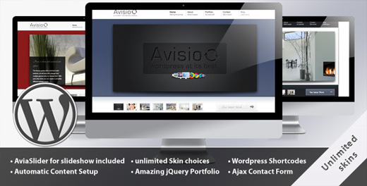 avisio premium wordpress theme