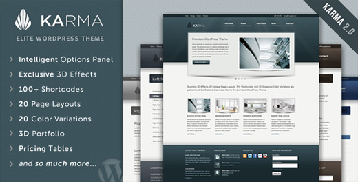karma premium wordpress theme