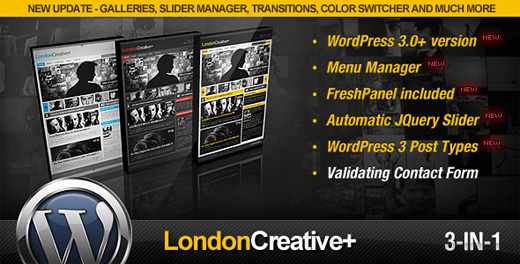 londoncreative premium wordpress theme
