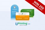 WIN 250 FREE Business Cards from Uprinting!