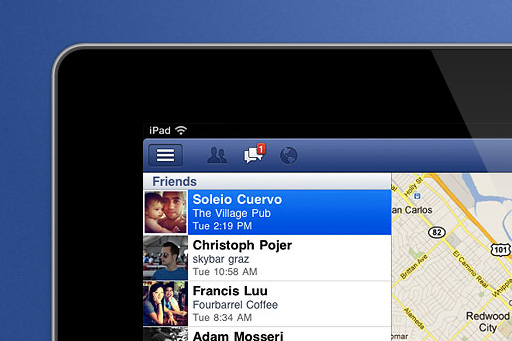 The Official Facebook iPad App is Here!
